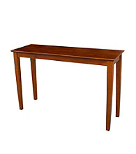 International Concepts Cottage Oak Console Table