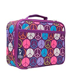 Wildkin Purple Peace Sign Lunch Box