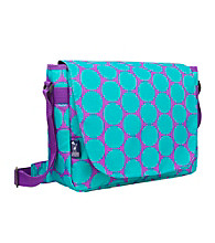 Wildkin Big Aqua Dots Laptop Messenger Bag