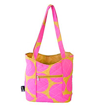 Wildkin Big Hot Pink Dots Quilted Tote