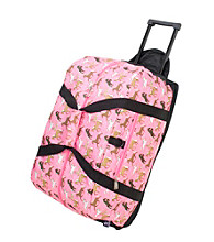 Wildkin Horses in Pink Good Times Rolling Duffel Bag