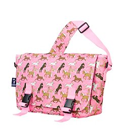 Wildkin Horses in Pink Jumpstart Messenger Bag