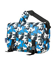 Wildkin Blue Camo Jumpstart Messenger Bag