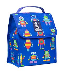 Olive Kids Robots Munch n' Lunch Bag