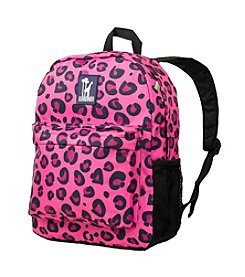 Wildkin Pink Leopard Crackerjack Backpack