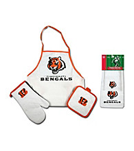 McArthur Sports Cincinnati Bengals Tailgate Combo Set and Kitchen Towel Set