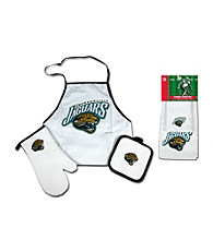 McArthur Sports Jacksonville Jaguars Tailgate Combo Set and Kitchen Towel Set