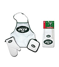 McArthur Sports New York Jets Tailgate Combo Set and Kitchen Towel Set