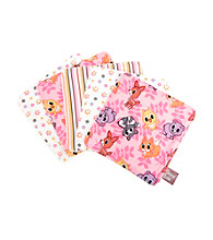 Trend Lab Baby Girls' Lola Fox 5 Pack Wash Cloths