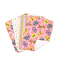 Trend Lab Lola Fox 4 Pack Burp Cloths