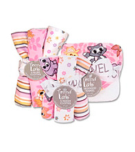 Trend Lab Baby Girls' Lola Fox Bath and Burp Set