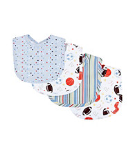 Trend Lab Little MVP 4 Pack Bib Set
