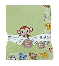 Trend Lab Chibi Zoo Receiving Blanket