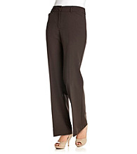 Briggs New York® Cat Eye Button Pants