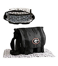 TNT Media Group Georgia Bulldogs Diaper Bag