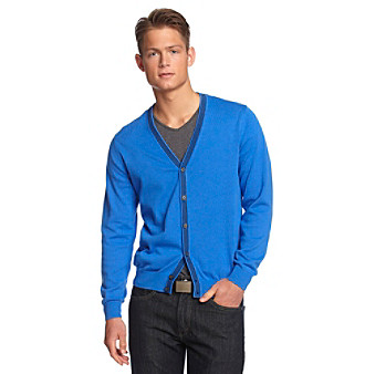 John Bartlett Consensus Men's Fine Gauge Cardigan