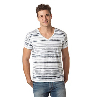 Calvin Klein Jeans® Men's Mixed Stripe Tee