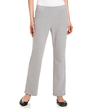 Laura Ashley® Knit Pants with Satin Trim
