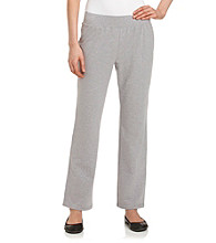 Laura Ashley® Petites' Knit Pants with Satin Trim