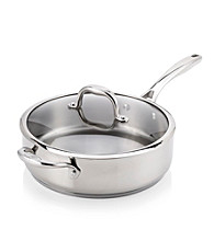 Guy Fieri 5-qt. Stainless Steel Deep Sauté Pan