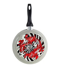 Guy Fieri Nonstick Fry Pan with Koi Fish Design