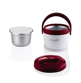Crock-Pot® 20-oz. Red Lunch Crock Food Warmer