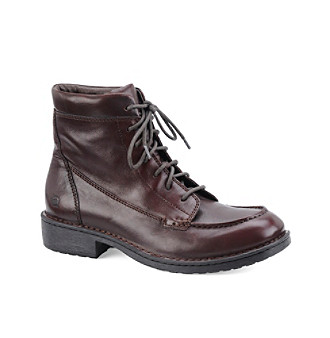 "Børn Men's ""Gage"" Lace-up Boot - Dark Brown"