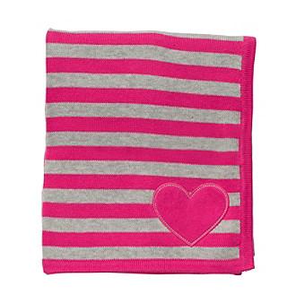 Carter's® Baby Girls' Pink Striped Blanket
