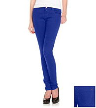 Fire® Juniors' Blue Dazzle Skinny Jeans