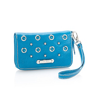 Nine West® Eye Candy Zip Around Tech Wallet