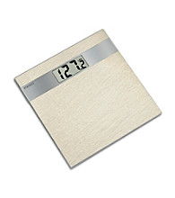 Homedics® Cream Ceramic Tile Digital Scale