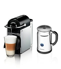 Nespresso® Pixie Espresso Maker and Aeroccino Frother