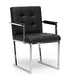Baxton Studios Collins Mid-Century Modern Accent Chair