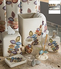 Croscill® Mosaic Leaves Bath Accessory Collection