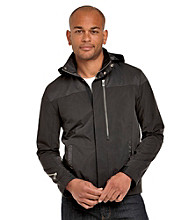Calvin Klein Men's Black Lightweight Colorblocked Jacket