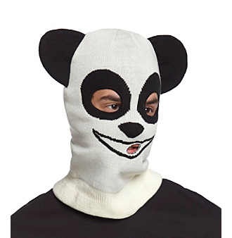 Mambo® Men's Ivory Panda Mask Hat