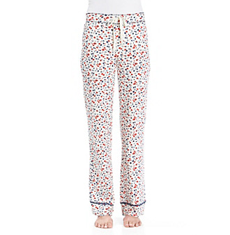 Zoe & Bella @ BT Poppy Knit Print Pants