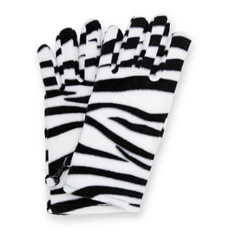 Relativity® Stretch Fleece Gloves - Animal