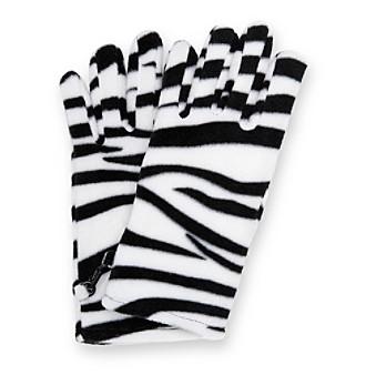 Relativity® Stretch Fleece Gloves - Animal