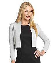 Calvin Klein Open-Front Basic Shrug