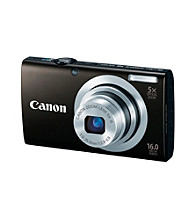 Canon® PowerShot® A2400 IS 16.0MP Digital Camera