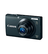 Canon® PowerShot® A3400 IS 16.0MP Digital Camera