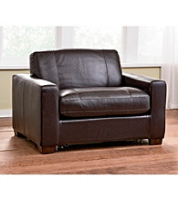 Natuzzi Editions® Sleep Solutions Leather Sleeper Chair