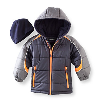 London Fog® Boys' 2T-7 Bubble Jacket