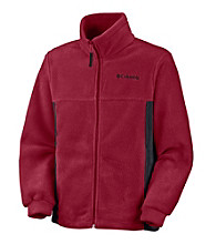 Columbia Boys' 2T-20 Colorblock Steens Mountain™ Fleece Jacket