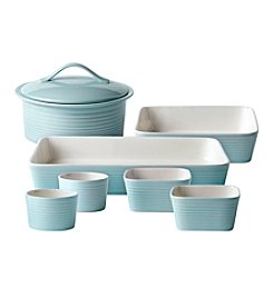 Gordon Ramsay Maze Collection by Royal Doulton 7-pc. Blue Oven-to-Table Set