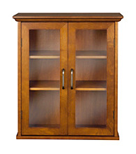 Elegant Home Fashions® Avery Oil Oak 2-Door Wall Cabinet