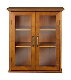 Elegant Home Fashions® Avery Oil Oak Two-Door Wall Cabinet