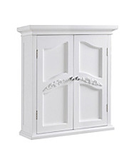 Elegant Home Fashions® Versailles White 2-Door Wall Cabinet
