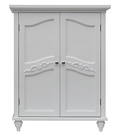 Elegant Home Fashions® Versailles White Two-Door Floor Cabinet